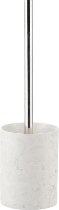 Ершик для унитаза Swensa Marmo, цвет: серыйSWTK-2900EТуалетный ерш Swensa Marmo в подставке обеспечит простую и приятную уборку в туалетной или ванной комнате. Изделие дополнено подставкой из керамики, что позволяет обезопасить его от различных механических повреждений. Туалетный ерш в подставке обеспечит необходимую чистоту и станет стильным аксессуаром для ванной комнаты.
