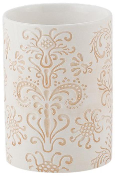 Стакан для ванной комнаты Swensa TreviSWTK-3000CСтакан Swensa Trevi — необходимый элемент ванной комнаты, предназначенный для хранения зубных щеток. Емкость вытянутой овальной формы изготовлена из белой керамики. Оригинальные узоры выступают в качестве эффектного украшения стакана. Изделие великолепно выглядит в комплекте с иными аксессуарами из этой же коллекции.