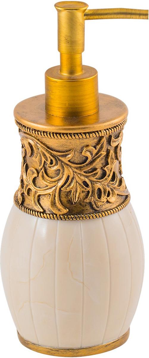 Диспенсер для мыла Swensa Флоренция, цвет: слоновая кость, 250 мл дозатор для моющего средства rosenberg 7487