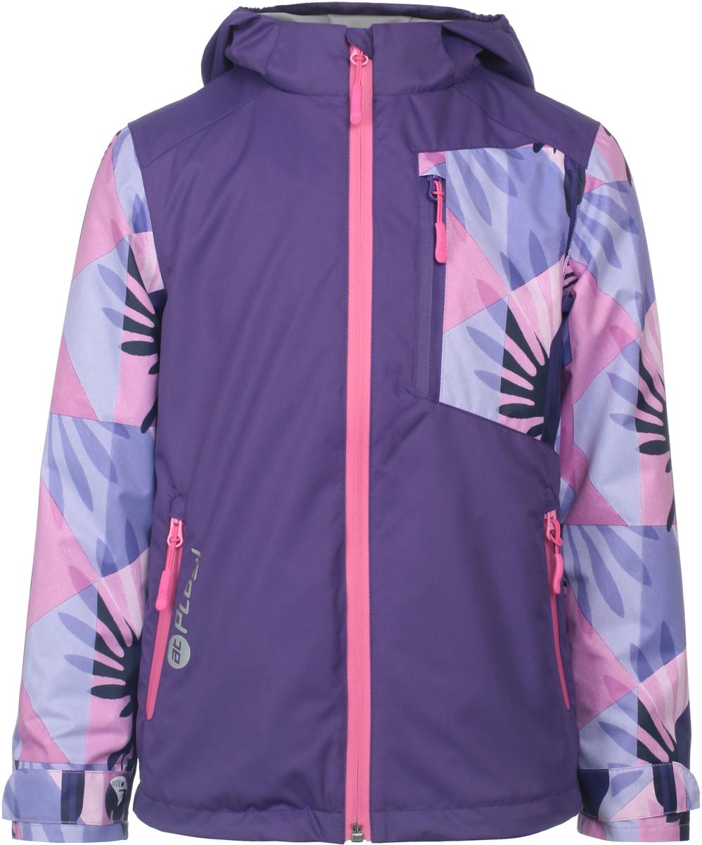 Куртка для девочек atPlay!, цвет: фиолетовый. 1jk807. Размер 1101jk807