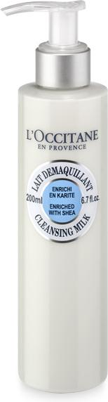 L`Occitane Очищающее Молочко Карите, 200 мл