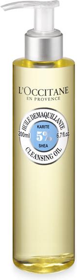 L`Occitane Очищающее масло для умывания Карите, 200 мл327883Очищающее масло для лица Карите – эффективное средство для снятия всех видов макияжа, даже водостойкого. Приконтакте с водой образует нежную пену, которая деликатно очищает кожу, не сушит и не нарушает естественный PH-баланс. В результате применения, кожа становится чистой, а цвет лица свежим и сияющим.