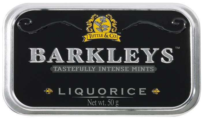 Barkleys Liquorice леденцы лакрица, 50 г сhokocat пилюли счастья 2 леденцы для рассасывания 18 г