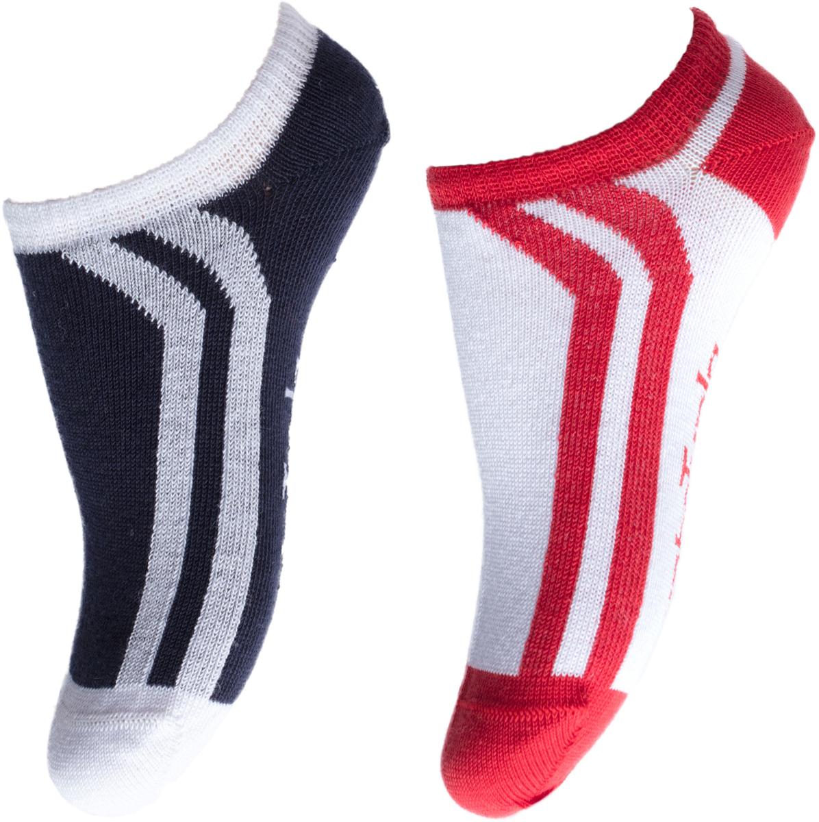 Носки для мальчика PlayToday, цвет: темно-синий, 2 пары. 181029. Размер 22181029Носки мягкие, из натуральных материалов. Хорошо пропускают воздух позволяя коже дышать. Укороченные модели выполнены в технике - yarn dyed - в процессе производства в полотне используются разного цвета нити. Изделия, при рекомендуемом уходе, не линяют и надолго остаются в первоначальном виде.