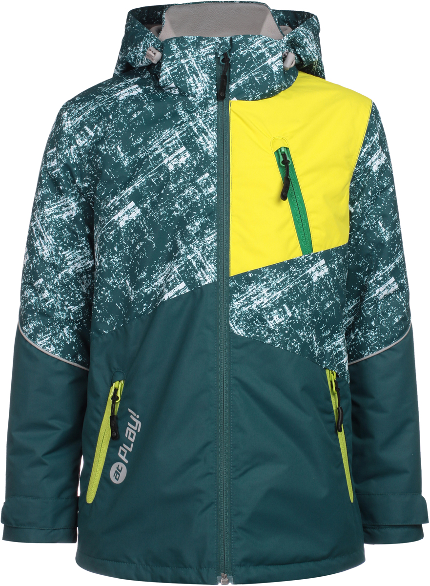Куртка для мальчика atPlay!, цвет: зеленый. 2jk812. Размер 158 алкотестер inspector at100