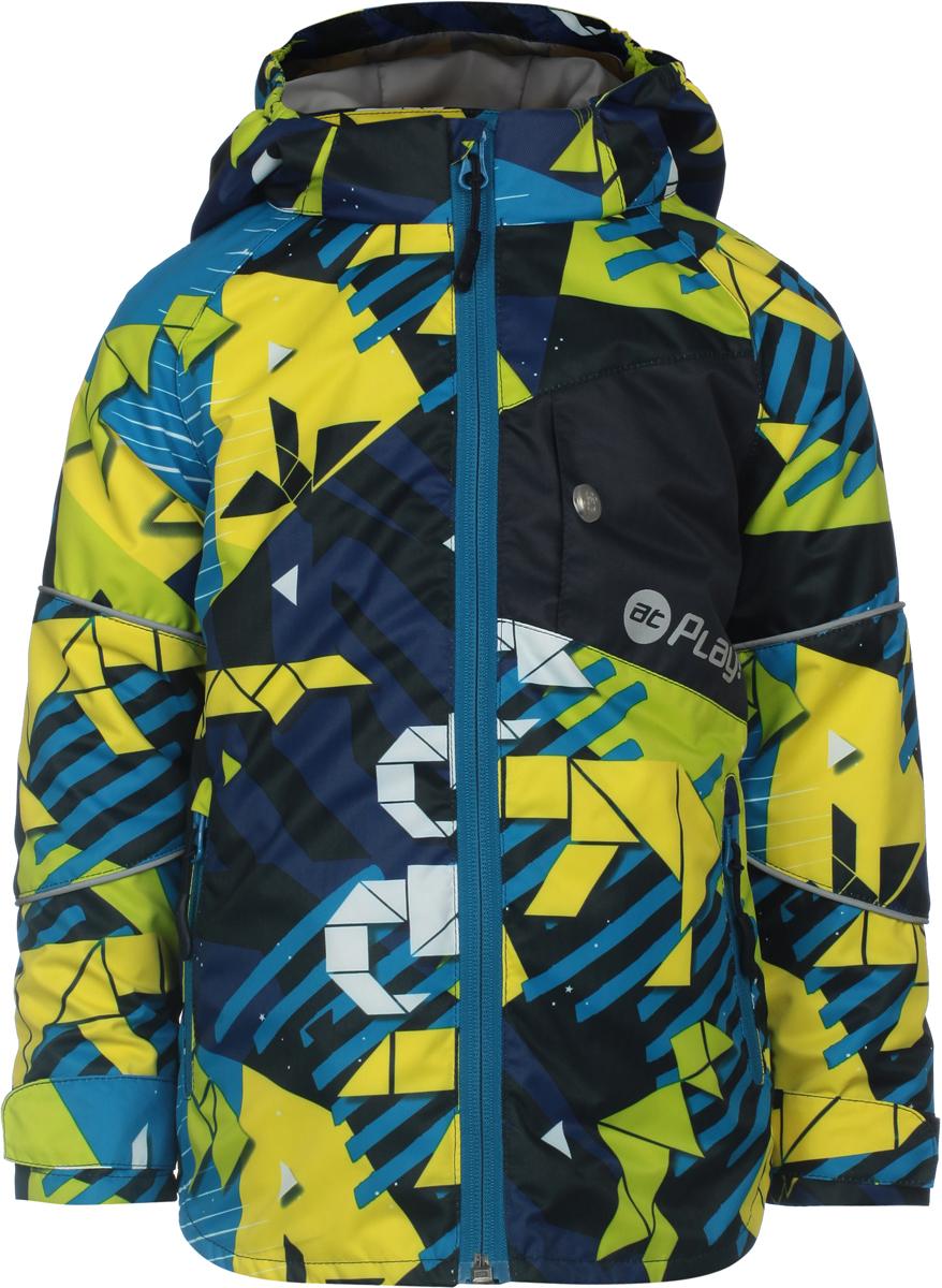 Куртка для мальчика atPlay!, цвет: синий. 2jk804. Размер 104 куртка для мальчика atplay цвет серый 2jk710 размер 128 8 9 лет