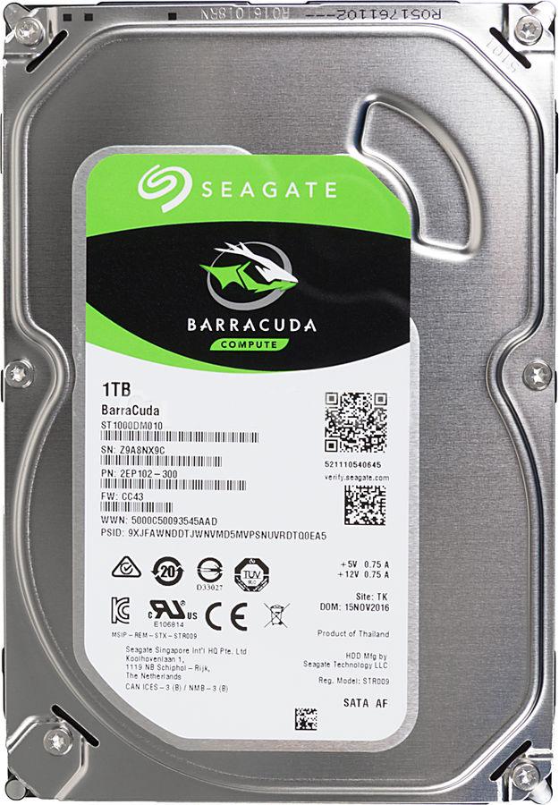 Seagate 1TB внутренний жесткий диск (ST1000DM010) seagate st1000lm024