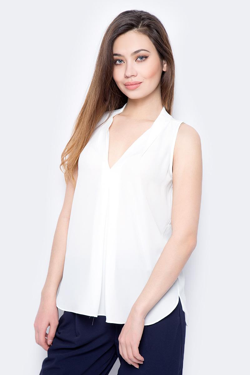 Блузка женская Sela, цвет: молочный. Twsl-112/805-8111. Размер 50 блузка женская sela цвет красный twsl 112 805 8111 размер 44