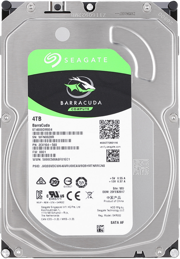 Seagate 4TB внутренний жесткий диск (ST4000DM004) жесткий диск пк western digital wd40ezrz 4tb wd40ezrz