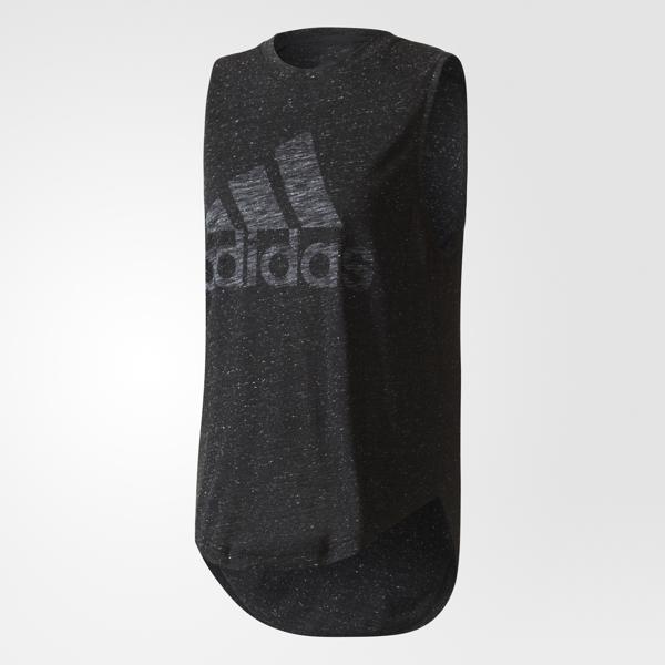 Майка женская adidas Winners M Tee, цвет: черный. BQ9521. Размер XL (52/54) футболка женская adidas rs ss tee w цвет розовый cf2140 размер xl 52 54