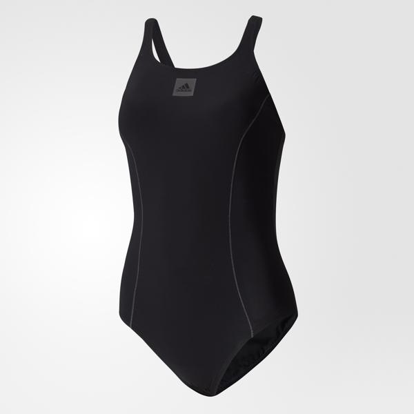 Купальник слитный женский adidas Occ Swim Infm, цвет: черный. BS0294. Размер 42 (48)BS0294Этот купальник от adidas с вшитым бюстгальтером и минимальными вырезами обеспечивает комфортную и удобную посадку. Матовая ткань, устойчивая к воздействию хлора, отлично тянется и обеспечивает полную свободу движений. Плоские швы минимизируют сопротивление воды и помогают преодолевать дистанцию с меньшими усилиями.