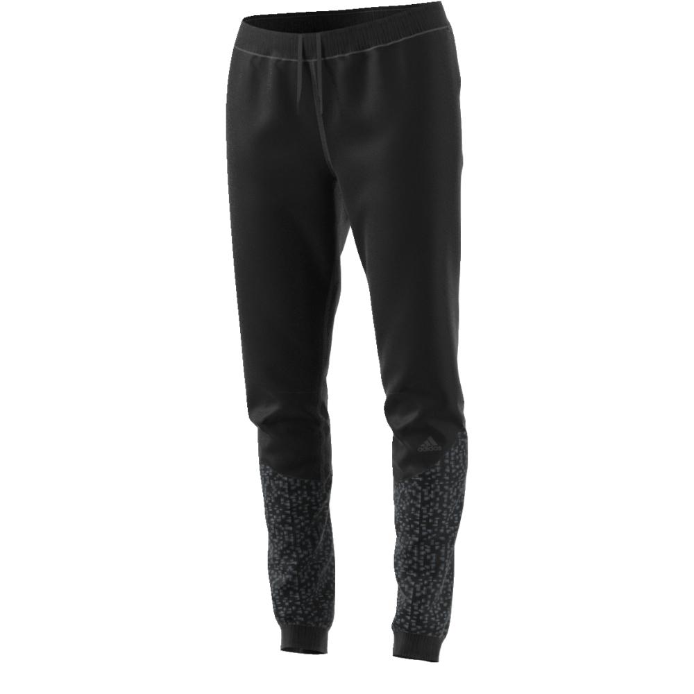 цены на Брюки спортивные женские adidas Sn Track Pant W, цвет: черный. BR5889. Размер S (42/44) в интернет-магазинах