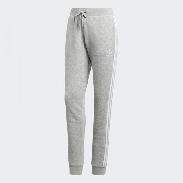 Брюки спортивные женские adidas Cuffed Pant, цвет: серый. CD6915. Размер 40 (46/48) брюки спортивные женские adidas ess solid pant цвет серый s97160 размер l 48 50