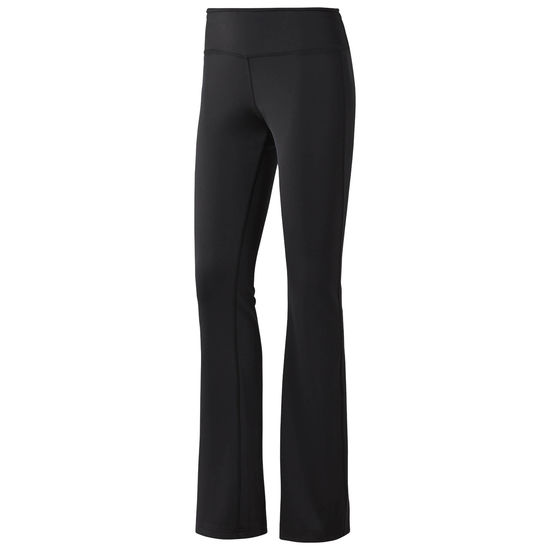 Брюки спортивные женские Reebok Wor Pp Btcut, цвет: черный. CD5943. Размер S (42/44)
