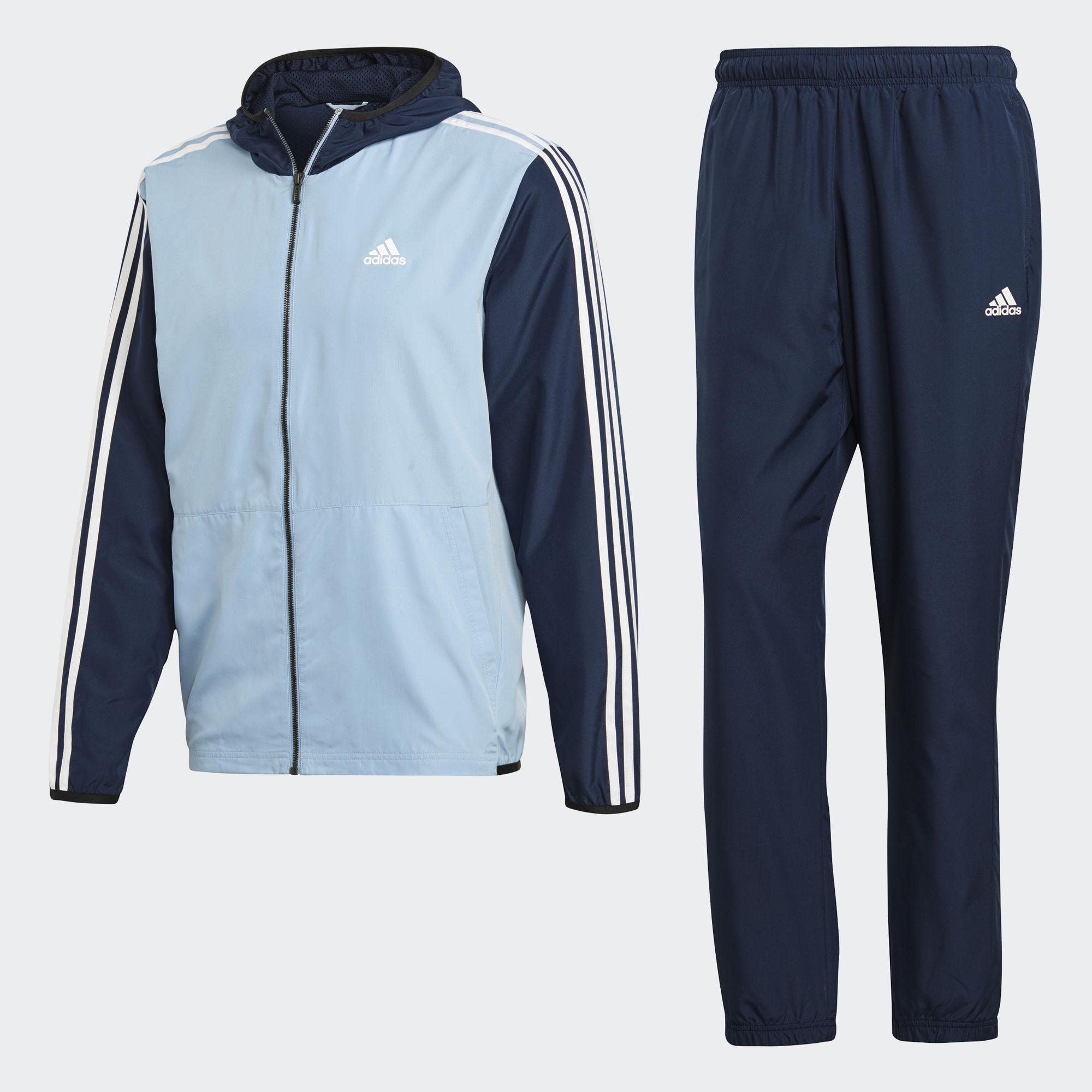 Спортивный костюм мужской adidas Mts Wv Pride, цвет: синий. CD6368. Размер 6 (50) спортивный костюм для девочки adidas yg hood pes ts цвет розовый темно синий bs2151 размер 116