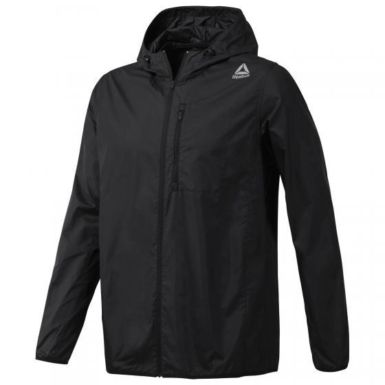 Ветровка мужская Reebok Wor Wv Jacket, цвет: черный. CE0102. Размер XL (56/58) горный велосипед of giant atx770 d 24 bb5