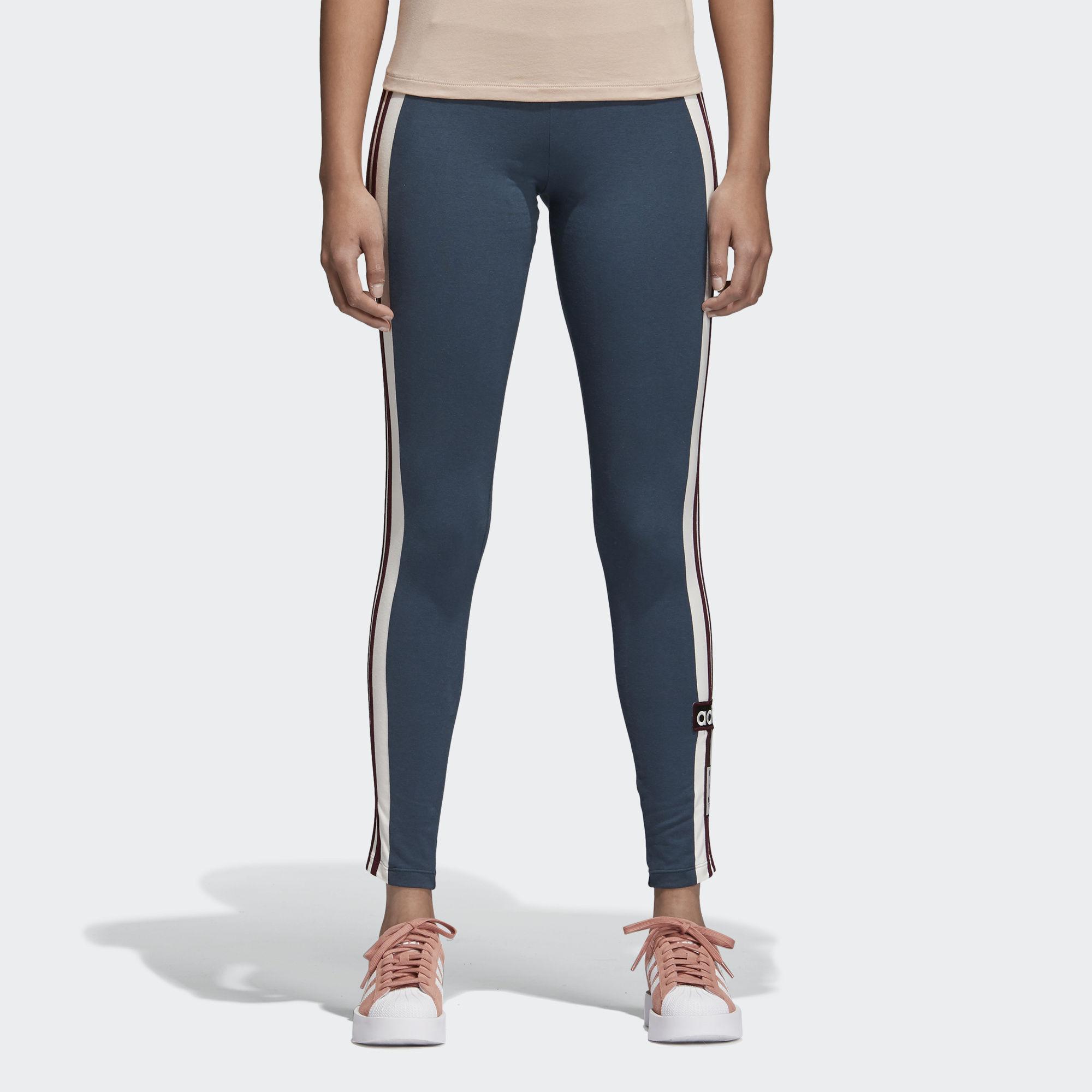Леггинсы женские adidas Adibreak Tight, цвет: синий. CE0989. Размер 38 (46) леггинсы женские adidas leggings цвет черный bj8360 размер 40 46 48