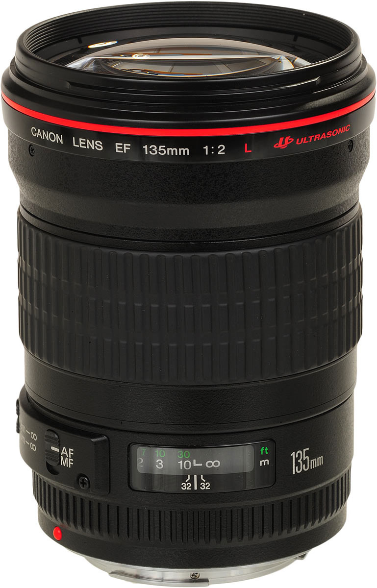 Canon EF 135 mm f/2L USM объектив
