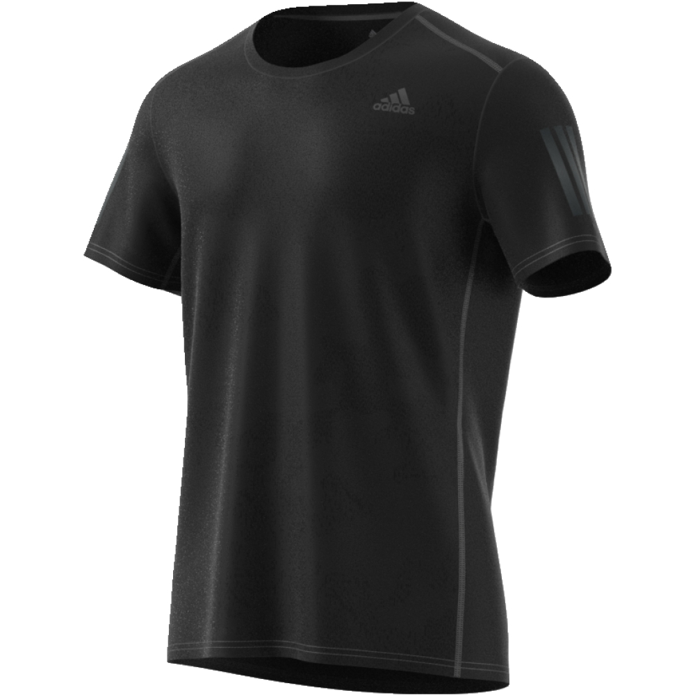 Футболка мужская Adidas Response Tee M, цвет: черный. CE7263. Размер M (48/50)CE7263