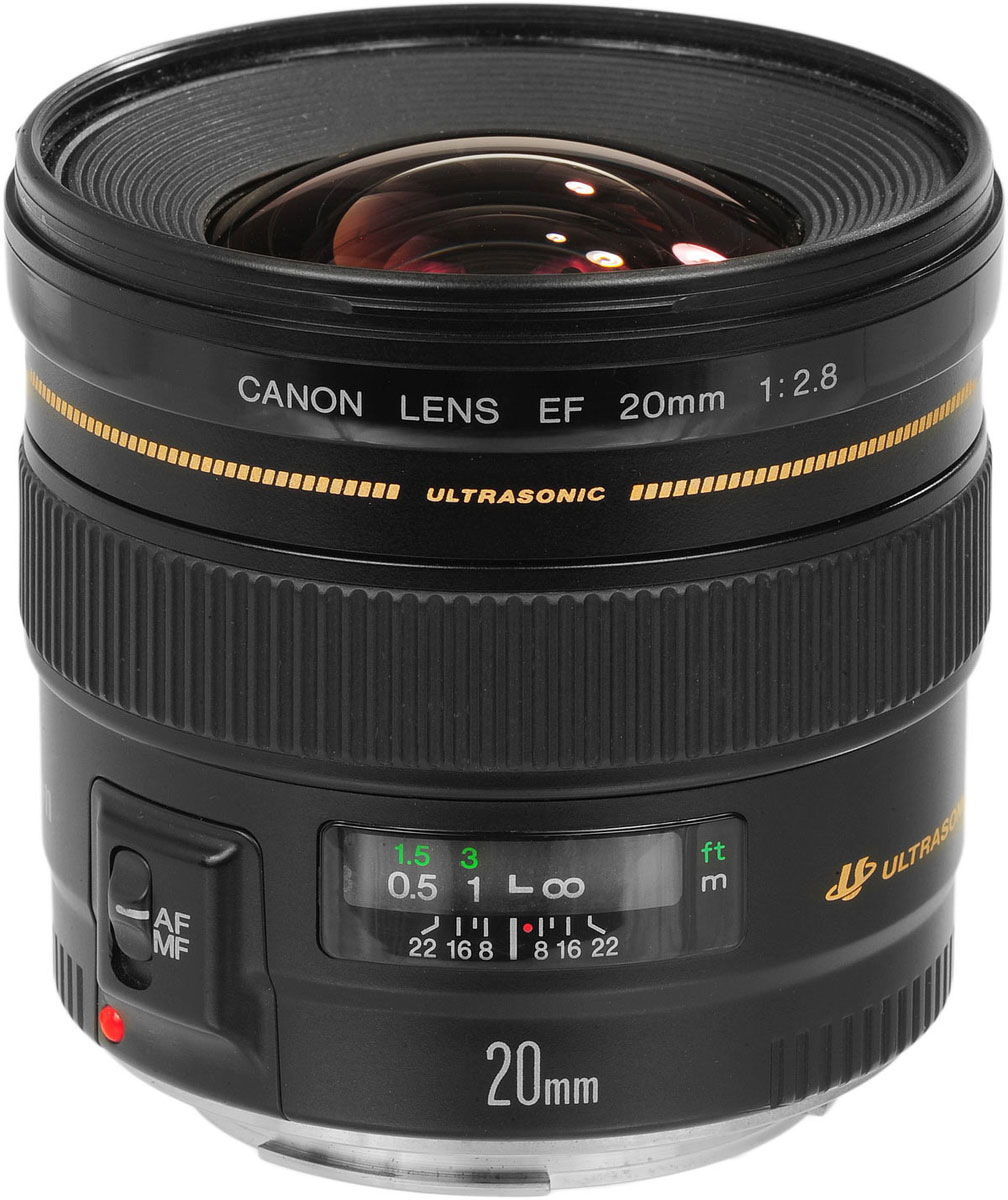 Canon EF 20 mm f/2.8 USM объектив