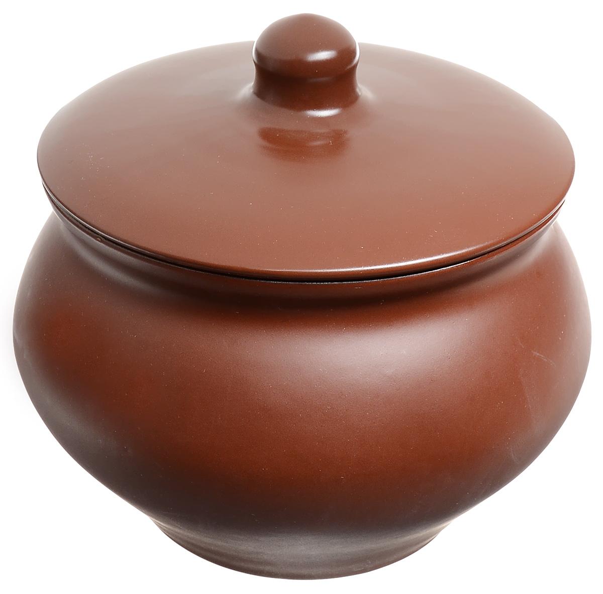 Горшочек для запекания Борисовская керамика Шелк, 1,3 л