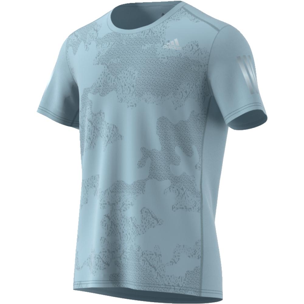 Футболка мужская Adidas Response Tee M, цвет: голубой. CF2110. Размер L (52/54)CF2110