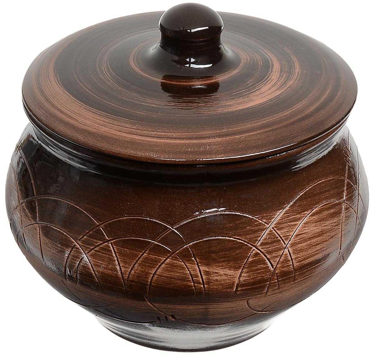 Горшочек для запекания Борисовская керамика Старина, 1,3 л