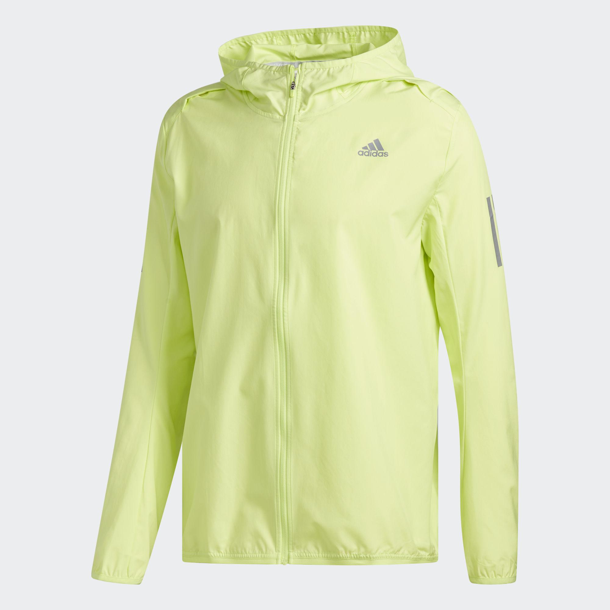 Ветровка мужская Adidas Rs Hd Wnd Jkt M, цвет: желтый. CF2094. Размер L (52/54)CF2094