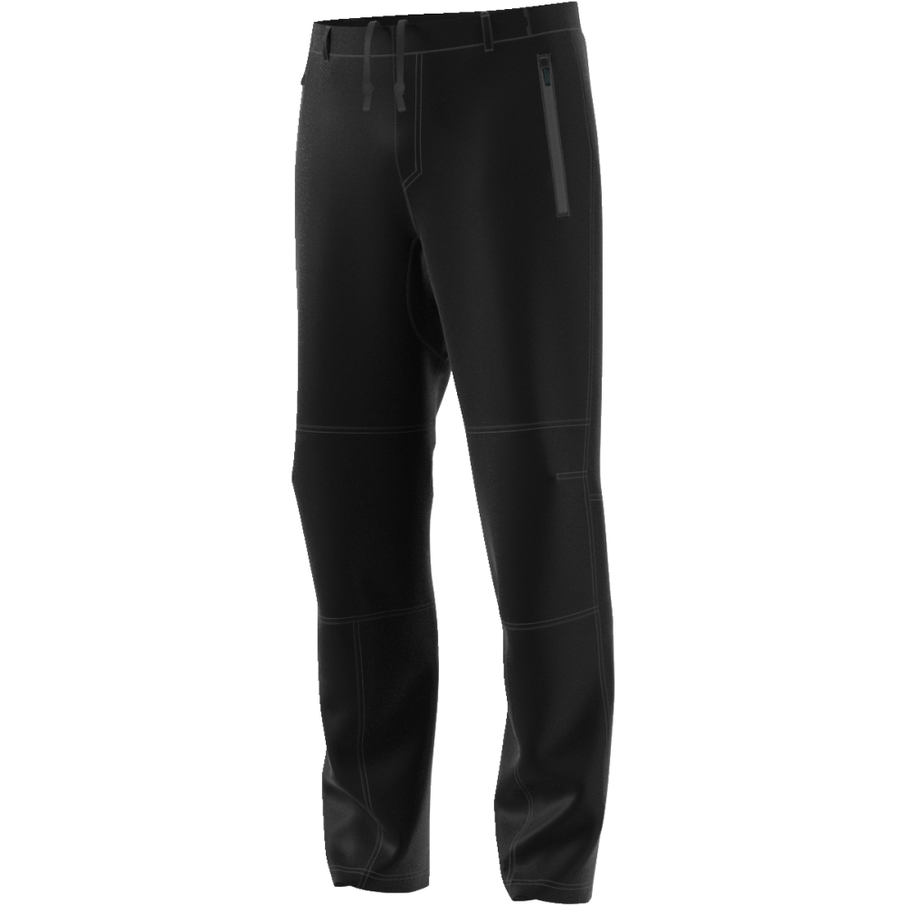 Брюки мужские Adidas Multi Pants, цвет: черный. CF4698. Размер (50)CF4698Эти мужские брюки от adidas идеально подойдут для активных видов отдыха на свежем воздухе. Эластичная ткань и текстильные вставки на коленях обеспечивают полную свободу движений. Водоотталкивающее покрытие защищает от легкого дождя и снега.