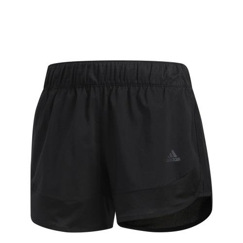 Шорты женские Adidas M10 Chill Short, цвет: черный. CF2160. Размер M (46/48)CF2160Даже небольшие пробежки заслуживают подходящей экипировки. Эти стильные женские шорты выполнены из функциональной ткани Climalite, которая сохраняет ощущение комфорта и сухости. Удобный влагонепроницаемый карман для мелочей.
