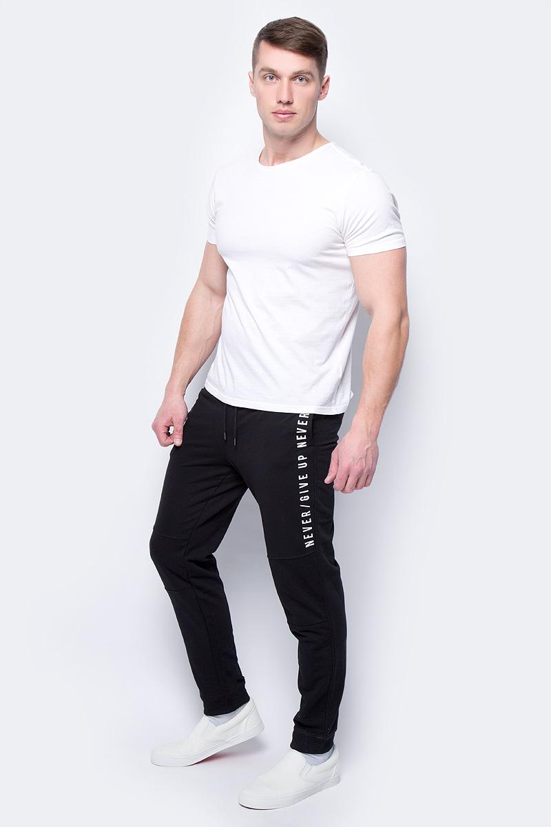 Брюки мужские Sela, цвет: черный. Pk-415/016-8112. Размер M (48)Pk-415/016-8112