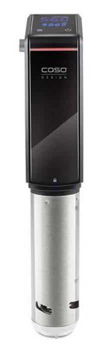 CASO SV 300 су вид00-00001483Полностью водостойкий (IPX7). Быстрый нагрев воды. Использование в емкости 6-15 л и глубиной от 15 см. Таймер до 99 часов. Выбор температуры до 90°C с шагом 0,5°C. Циркуляция воды 8 литров в минуту. Удобное сенсорное управление. Практичная прищепка держатель. Мощность: 800 Вт.