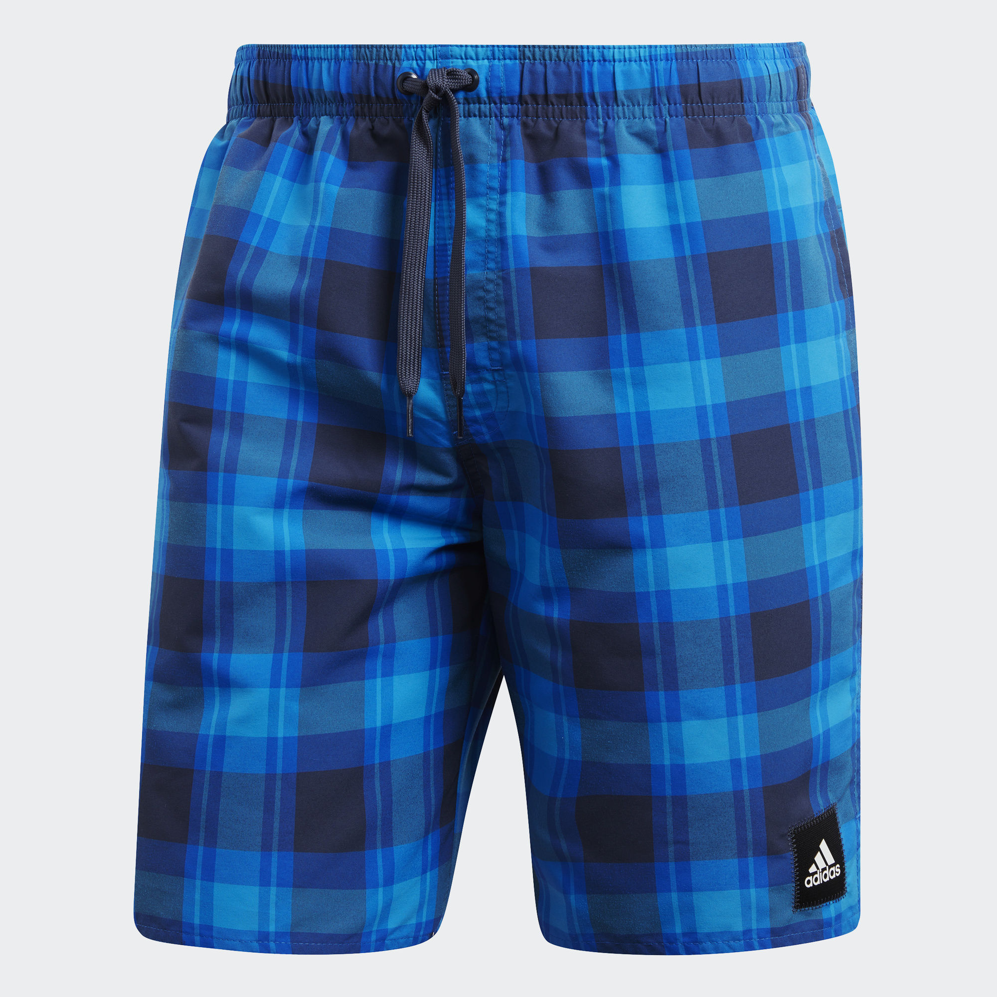 Шорты мужские adidas Check Sh Ml, цвет: синий. CV5158. Размер L (52/54) брюки спортивные мужские adidas tiro17 3 4 pnt цвет синий bq2645 размер l 52 54