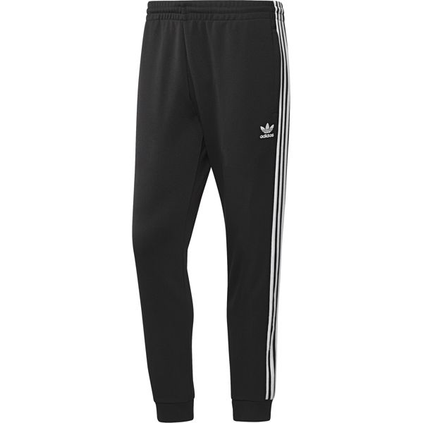 Брюки спортивные мужские adidas Sst Tp, цвет: черный. CW1275. Размер XXL (60/62) брюки спортивные мужские adidas m id stadium pt цвет синий cg2093 размер xxl 60 62