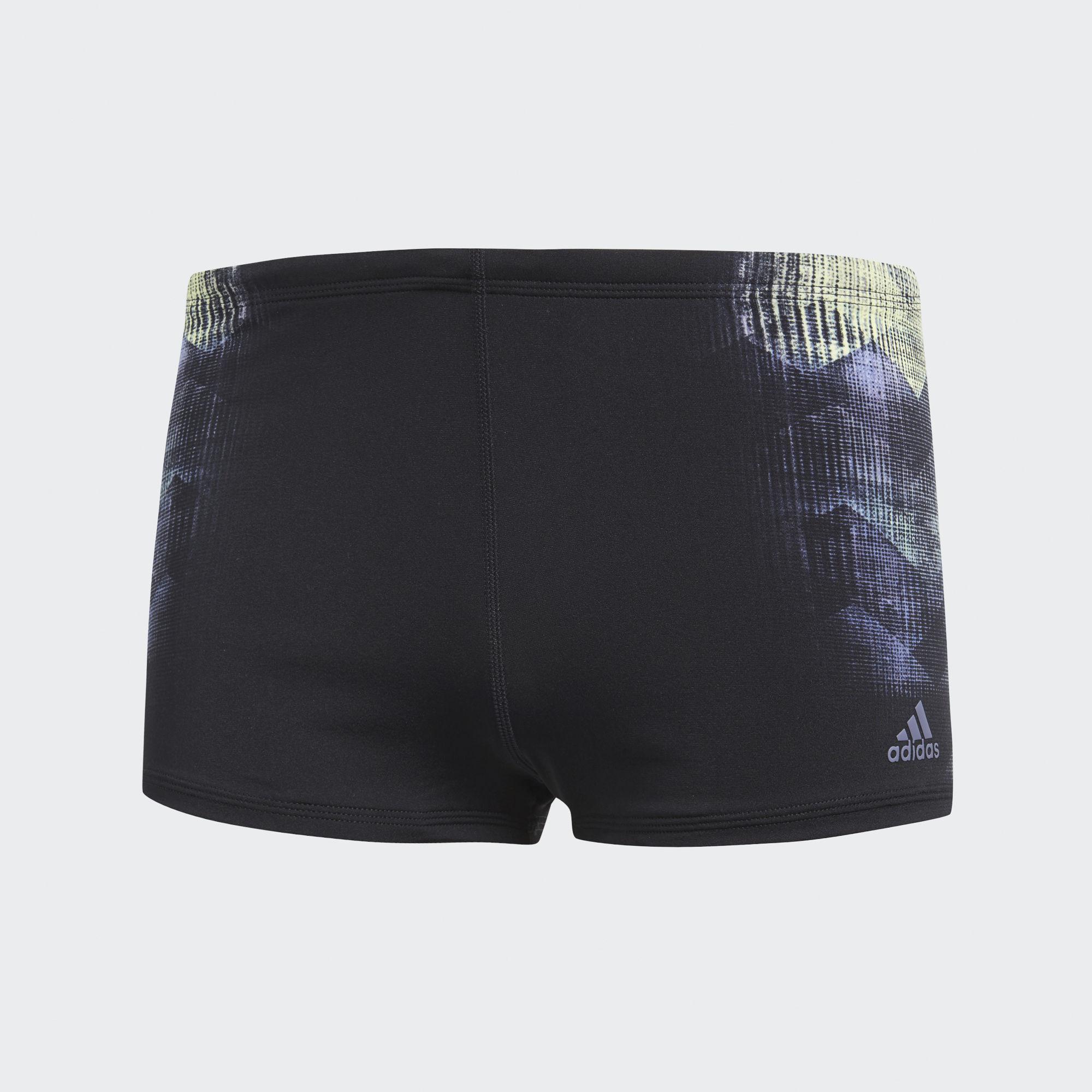 Плавки мужские adidas Per Bx Pl Adz, цвет: черный. CW4853. Размер 4 (46)