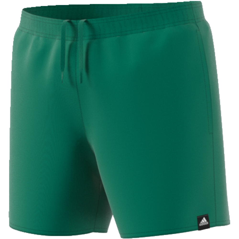 Шорты мужские adidas Solid Sh Sl, цвет: зеленый. CV7113. Размер XL (56/58)