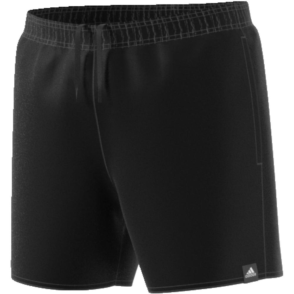 Шорты мужские Adidas Solid Sh Sl, цвет: черный. CV7111. Размер M (48/50)CV7111Мужские шорты от adidas для пляжа, бассейна и водных видов спорта. Укороченный фасон для свободы движений. Внутренние сетчатые шорты для дополнительного комфорта.