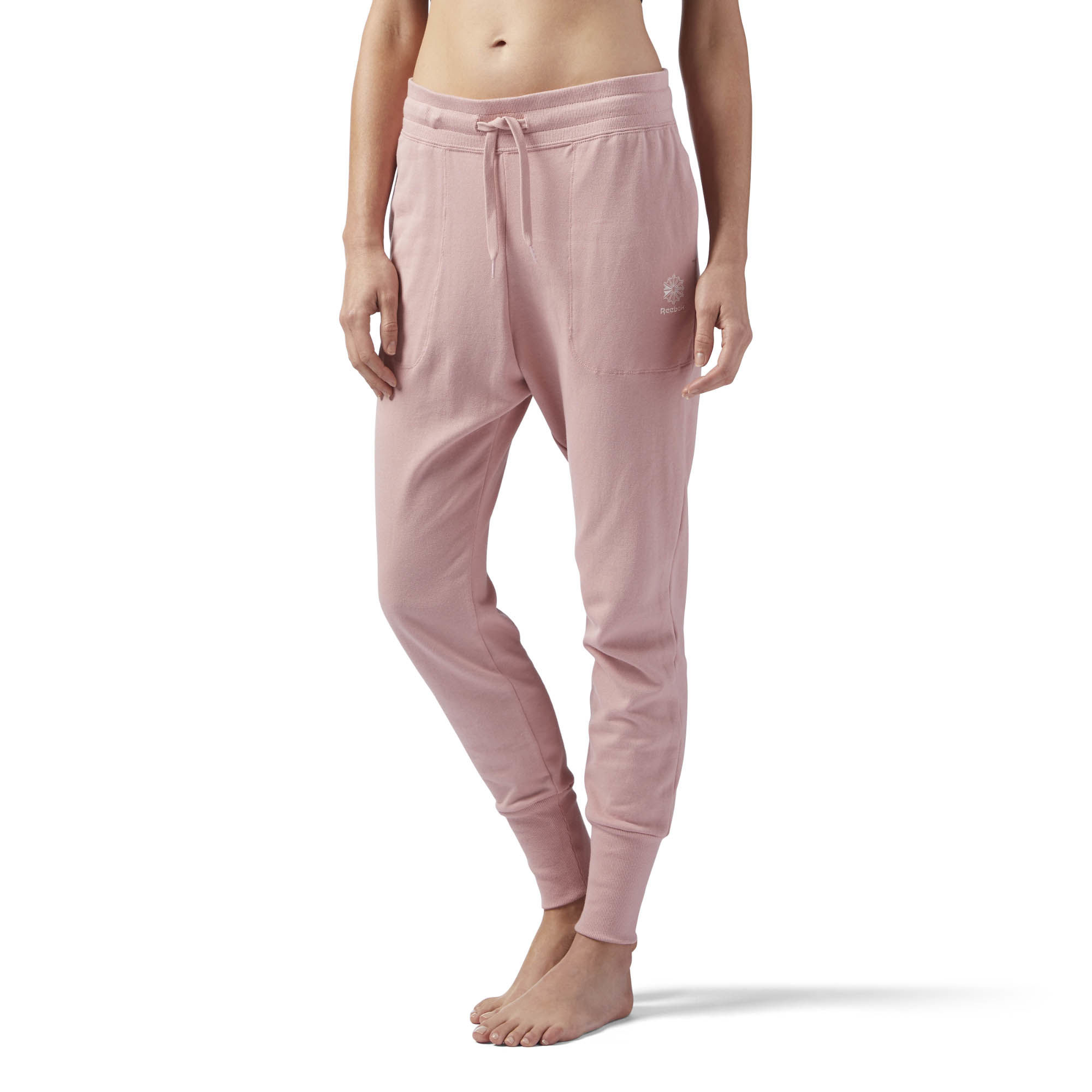 Брюки спортивные женские Reebok F Ft Pant, цвет: розовый. CY7879. Размер M (46/48) can t you sleep little bear libros infantiles original english books cuentos infantiles educativos children kids picture book