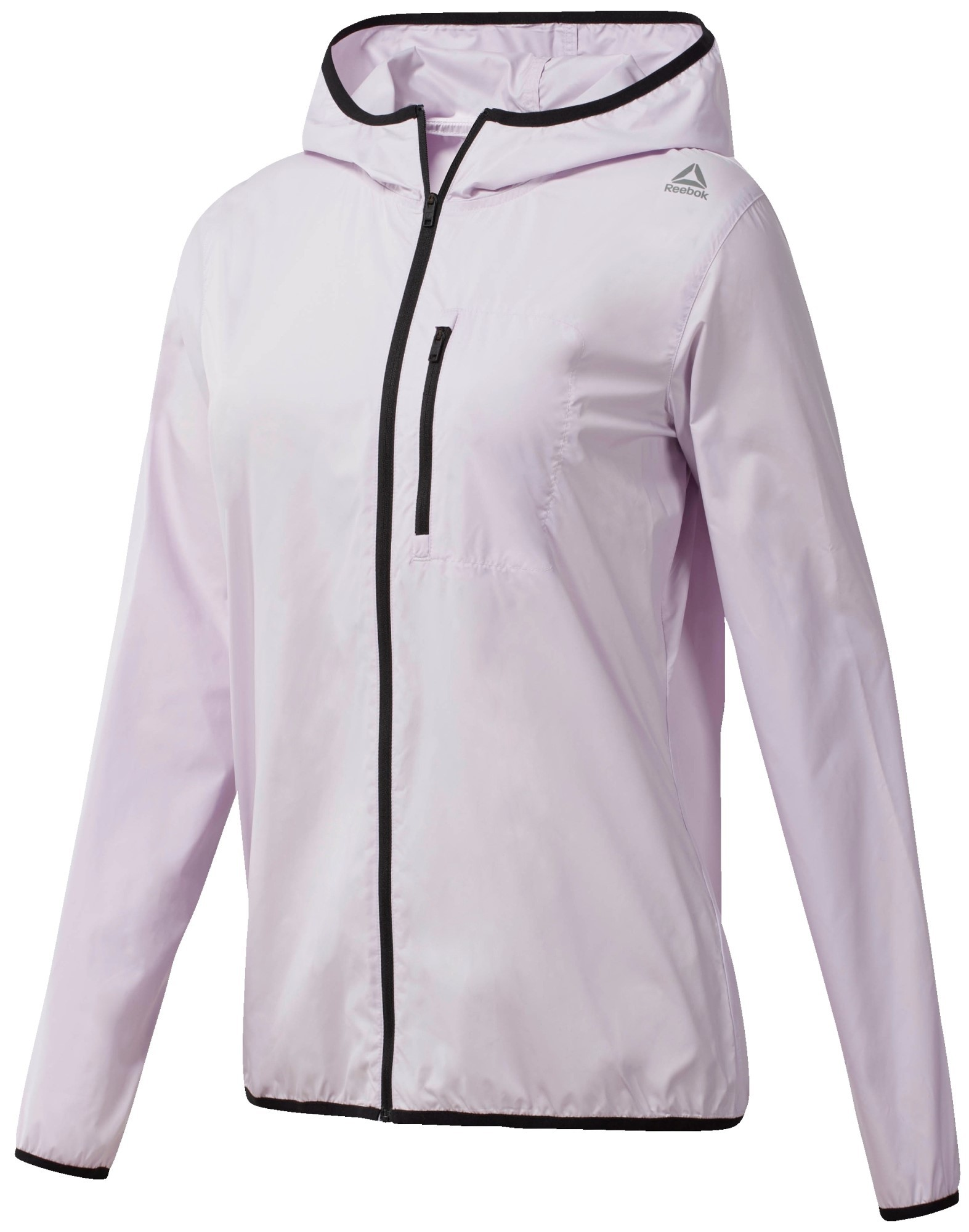 Ветровка женская Reebok Wor Wvn Jacket, цвет: белый. CE1193. Размер M (46/48)