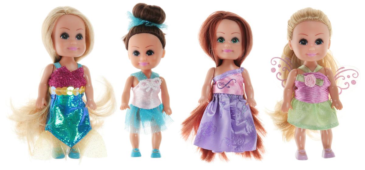 Funville Набор мини-кукол Маленькие друзья 4 шт Вид 2 кукла funville brilliance fair с диадемой и волшебной палочкой
