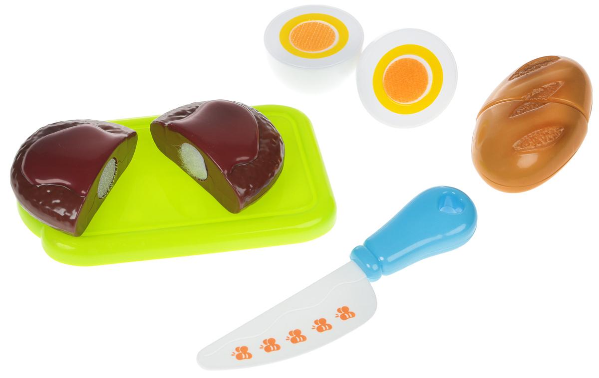 Bampi Набор продуктов на липучке Яйцо ролевые игры игруша игровой набор продукты 10 предметов