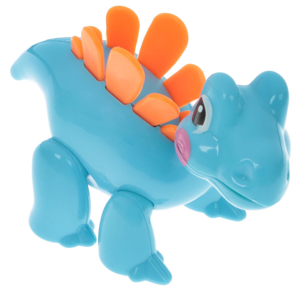Ути Пути Игрушка-фигурка Динозавр цвет голубой оранжевый halloween natural rubber bald ghost mask red white