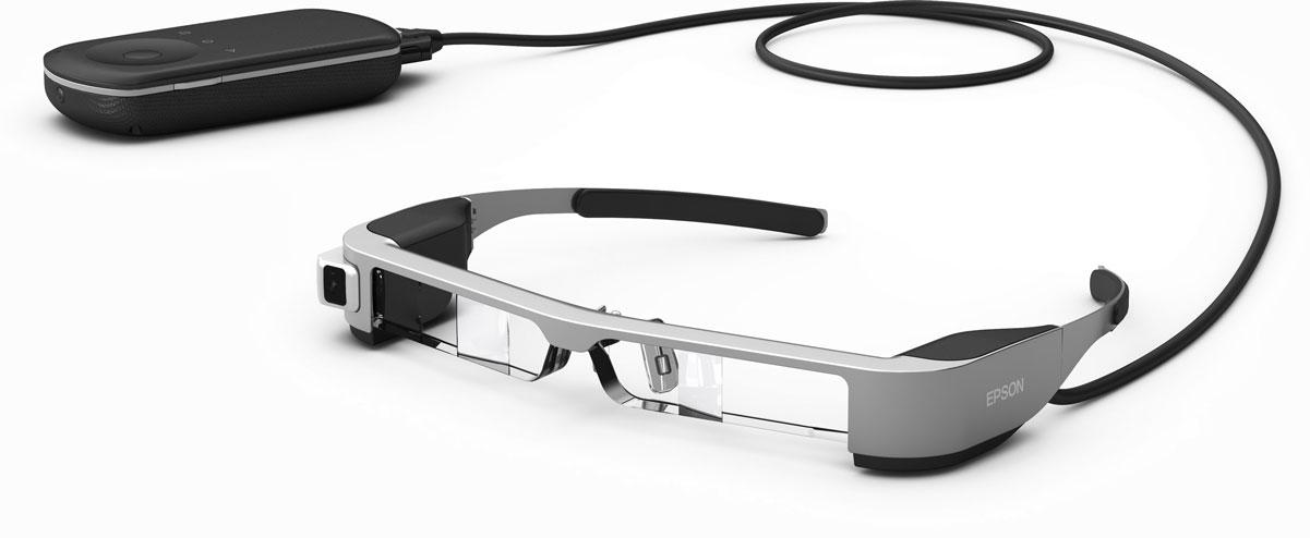 Epson Moverio BT-300 очки дополненной реальности