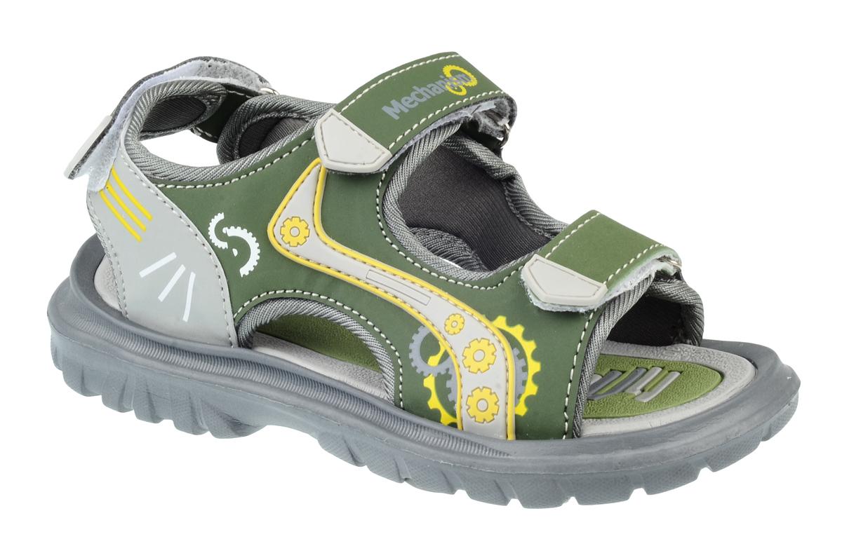 Сандалии для мальчика Тинго, цвет: зеленый. SC8-6530. Размер 31