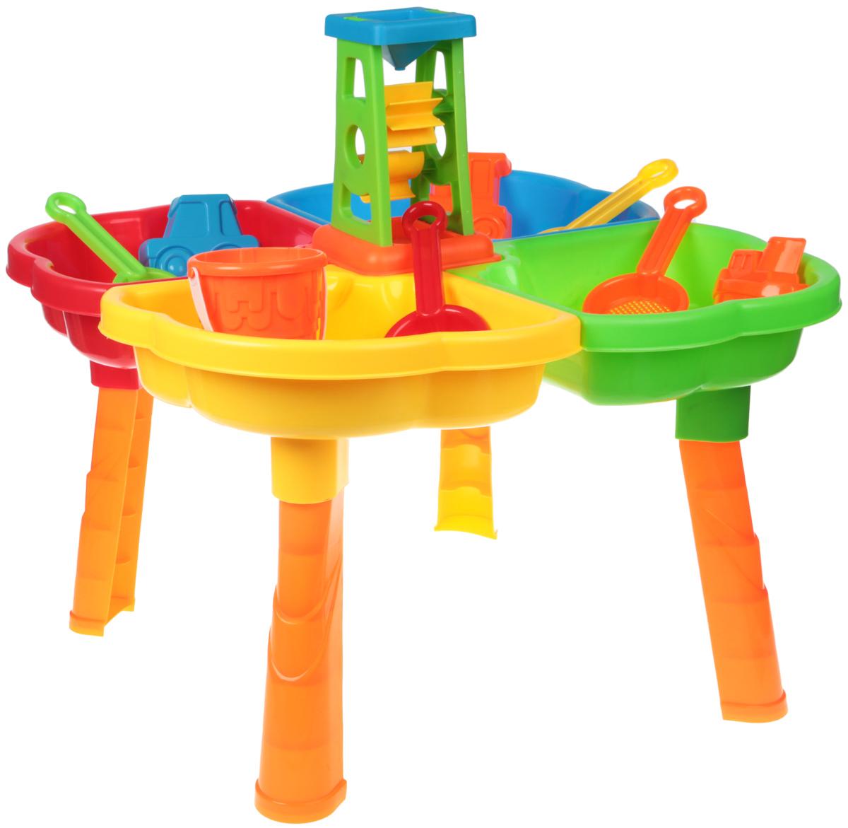 Concord Toys Песочница для игр с водой и песком I947562 игрушки для ванны tolo toys набор ведерок квадратные