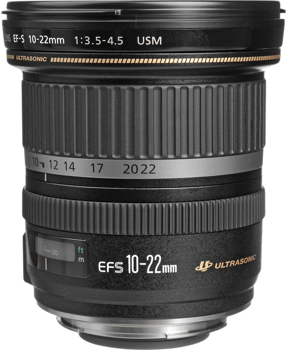 Canon EF-S 10-22 mm f/3.5-4.5 USM объектив