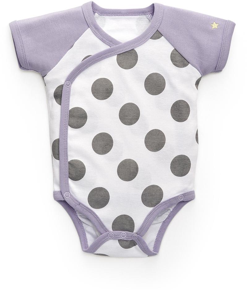 Боди для девочки Happy Baby, цвет: белый. 90003. Размер 68/74 боди детское happy baby цвет белый мятный 2 шт 90005 размер 74 80