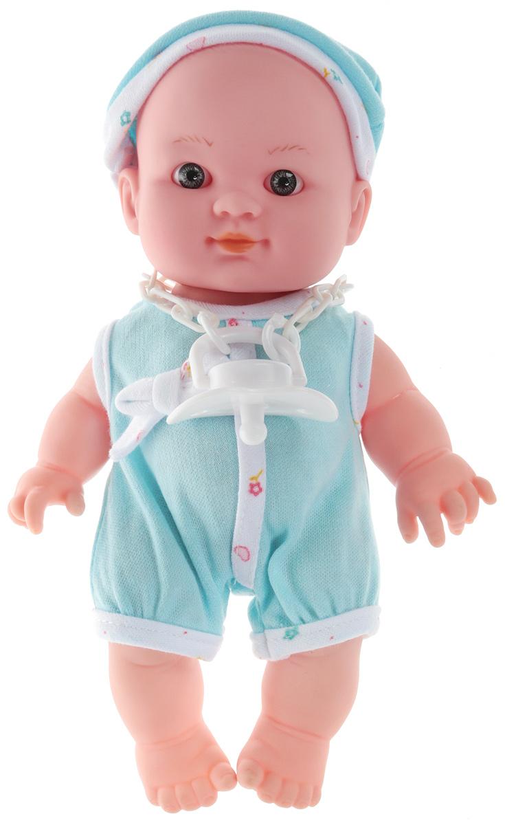 ABtoys Пупс Мой малыш со звуковыми эффектами цвет голубой abtoys со стрелами на присосках