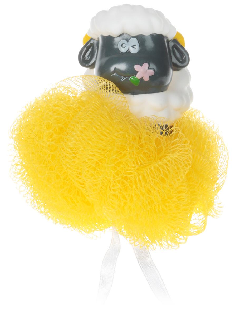 BioCos Мочалка для тела, с игрушкой-гелем для душа, цвет желтый12989_желтыйМочалка бережно очищает кожу, обладает приятным массажным эффектом. Подходит для ежедневногоиспользования. Рекомендации по применению: промыть мочалку в горячей воде, предварительно сняв с нее игрушку. Выдавитьгель для душа из игрушки на мокрую мочалку и взбить до появления пены. Состав геля для душа: вода, лауретсульфат натрия, кокамидопропилбетаин, акрилат/C10-30, алкилированныйакрилат кроссполимер, триэтаноламин, С12-13 алкил лактат, парфюм, двунатриевый ETDA, метилпарабен,пропилпарабен, метилхлороизотиазолинол & метилизотиазолинон, +/- Cl19140, Cl42090, Cl17200, Cl77891. Уважаемые клиенты!Обращаем ваше внимание на возможные изменения дизайна игрушки,связанные с ассортиментом продукции. Поставка осуществляется в зависимости от наличия на складе.