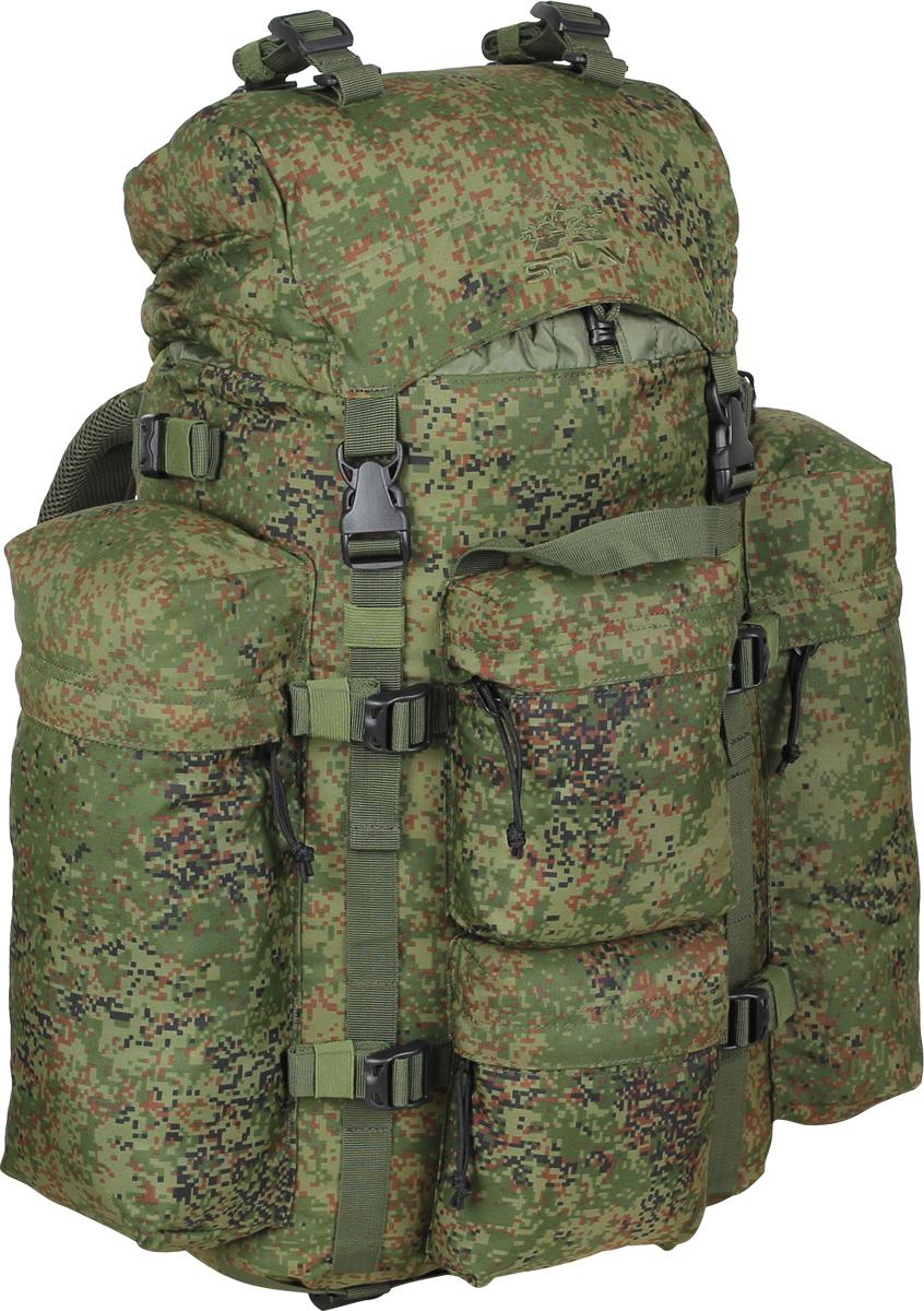 Рюкзак туристический Сплав, цвет: зеленый, 43 л. 50224985022498Удобный, легкий рюкзак с множеством внешних карманов. Обновленная спинка рюкзака благодаря многослойной структуре имеет высокую жесткость и обеспечивает отличную вентиляцию. Объемный карман в клапане. Карман для документов на внутренней стороне клапана. Анатомический крой лямок. Грудная стяжка. Съемный пояс из широкой стропы. Два больших боковых кармана на молнии. Два малых фронтальных кармана на молнии.Боковые карманы рюкзака пришиты только по вертикальным краям, так что между ними и рюкзаком образуются плоские отделения со входом сверху для переноски длинномерных грузов. Выше карманов нашиты утяжки для надежного закрепления этих грузов. Ячейки на лямках рюкзака позволят разместить рацию, GPS или другое оборудование, а также закрепить дополнительные подсумки в максимально удобных для быстрого доступа местах. Дополнительные точки крепления груза на клапане и дне рюкзака и съемные стяжки в комплекте.Объем: 43 л.Вес: 1,5 кг. Основное отделение: 32 x 55 x 16 см. Верхний передний карман: 15 x 18 x 5 см. Нижний передний карман: 15 x 18 x 5 см. Боковой карман (2 шт): 14 x 32 x 8 см. Карман на клапане: 28 x 20 x 5,5 см. Основная ткань: Polyester 600D. Пластиковая фурнитура: Duraflex.